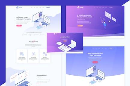 XIOM — SaaS, Software und Startup-HTML-Vorlage