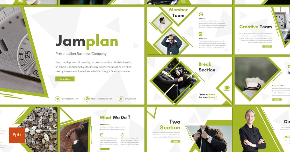 Download Jamplan - Powerpoint Template by inspirasign