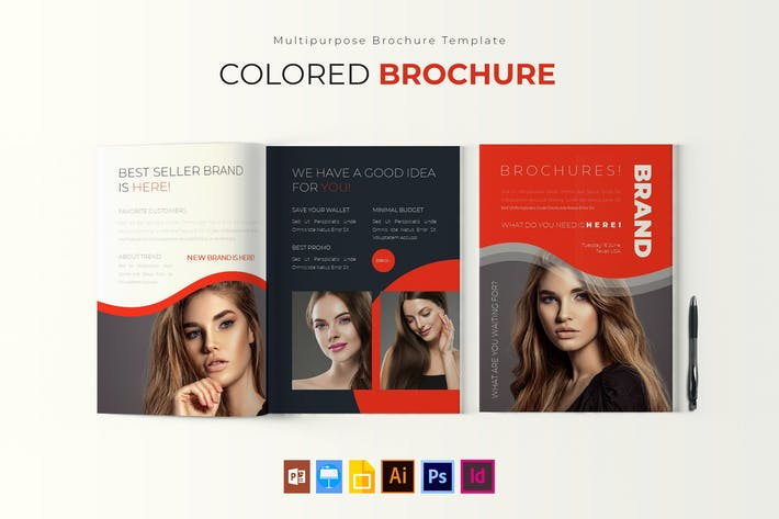 Thumbnail for Colored | Brochure Template