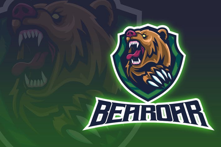 Thumbnail for Bear Roar esport Logo