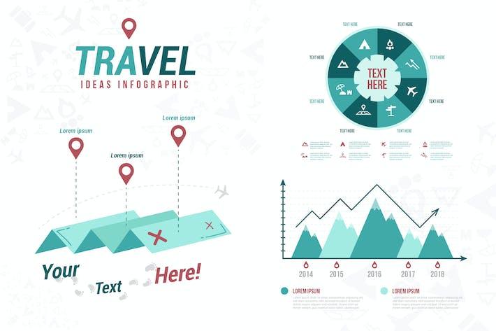Thumbnail for Идеи путешествий - Инфографика
