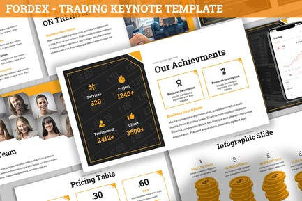 Fordex - Trading Keynote Template