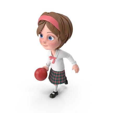 Cartoon Girl Meghan Bowling