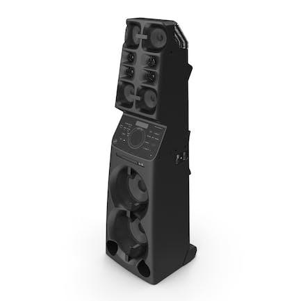 Sistema de Audio de alta potencia todo en uno
