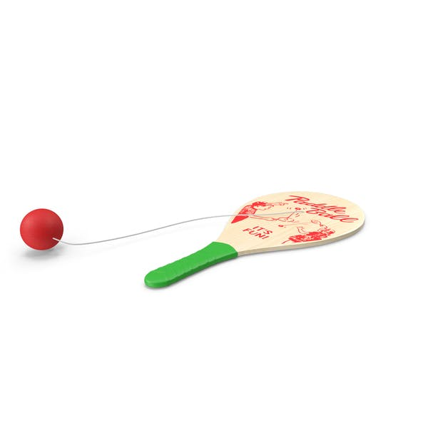 Thumbnail for Wooden Paddle Ball