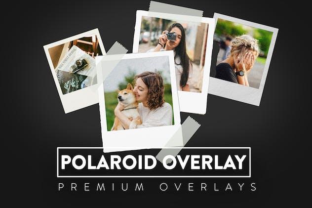 10 Polaroid Digital Overlay