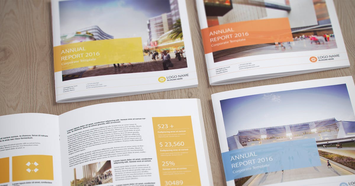 Download Photorealistic Square Magazine Mock-up's by WpWay_