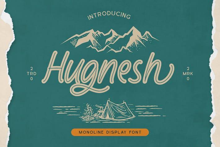 Thumbnail for Fuente de visualización Hugnesh-Monoline