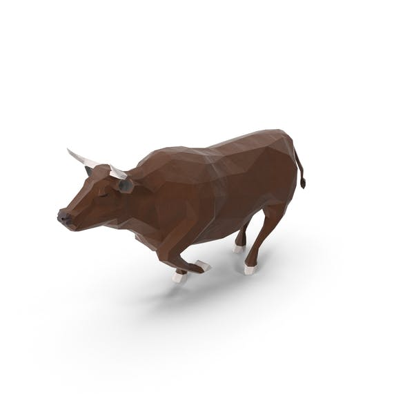 Low Poly Bull