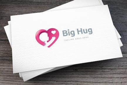 Big Hug Logo Template