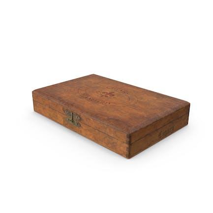 Vintage-Zigarrendose aus Holz