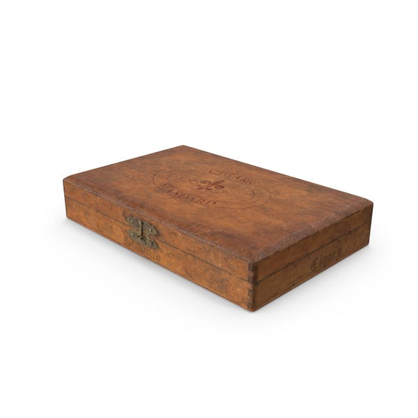 Thumbnail for Vintage Wooden Cigar Box