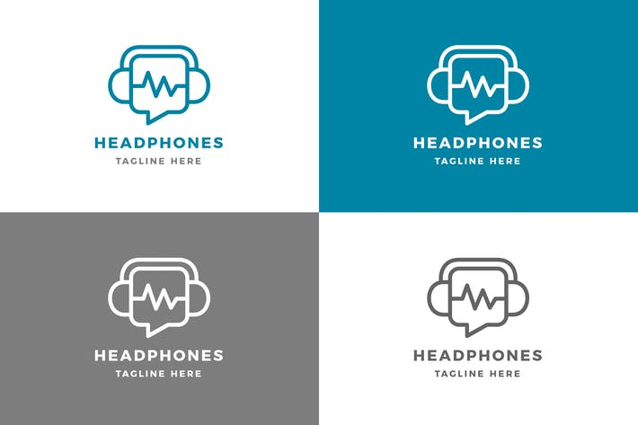 Thumbnail for Headphone - Logo Template