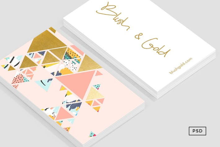Thumbnail for Gold Abstraction Business Card