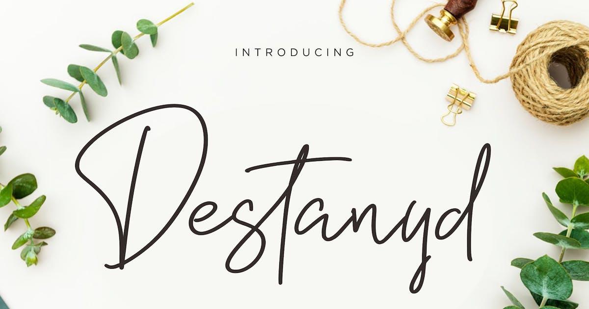 Download Destanyd Handwriting Monoline by RahardiCreative