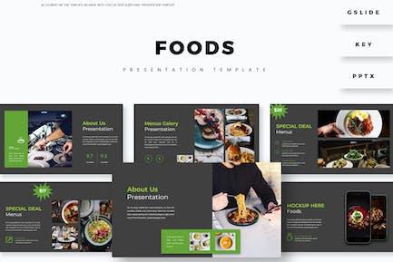 Foods - Presentation Template