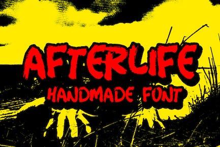 Afterlife Handmade Font
