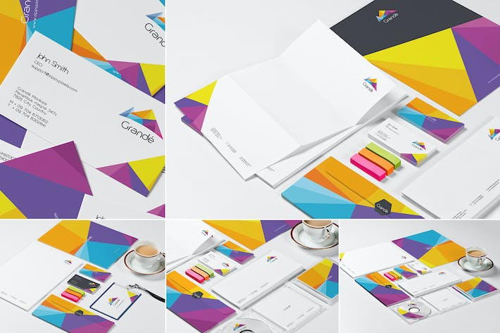 Thumbnail for Stationery Mockup Set