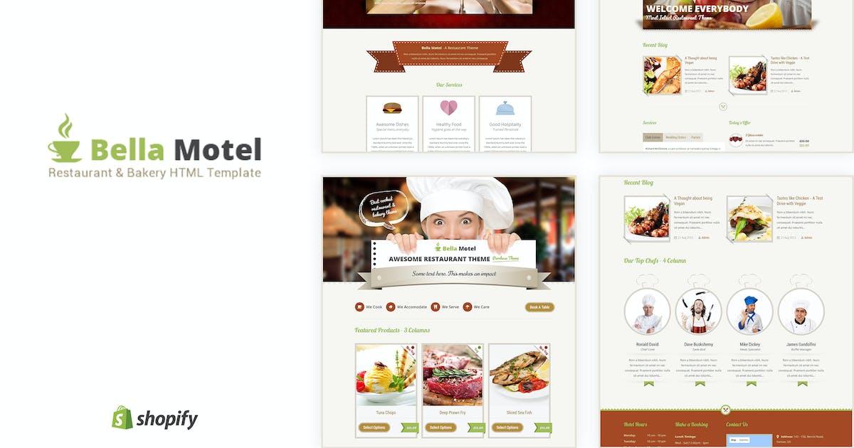 Bella Motel - Restaurant & Bakery Responsive HTML by BuddhaThemes