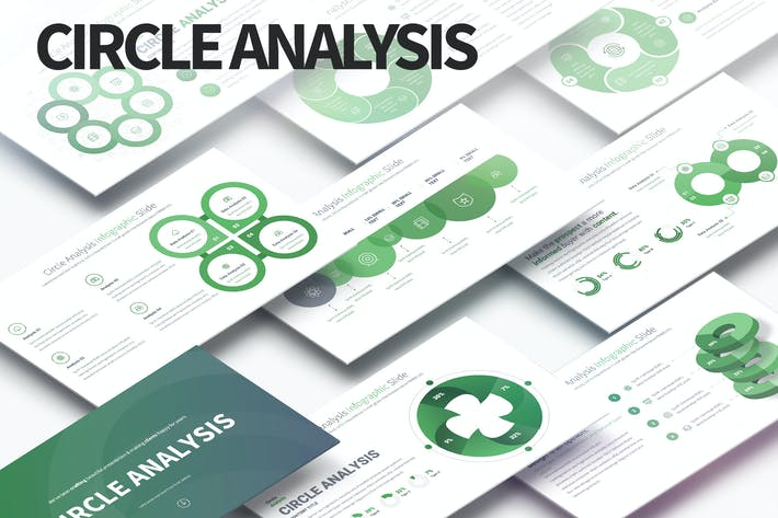 Thumbnail for Circle Analysis - PowerPoint Infographics Slides