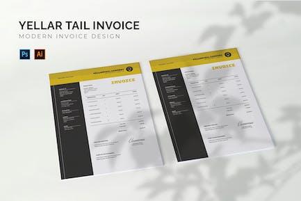 Yellartail Company - Invoice Template