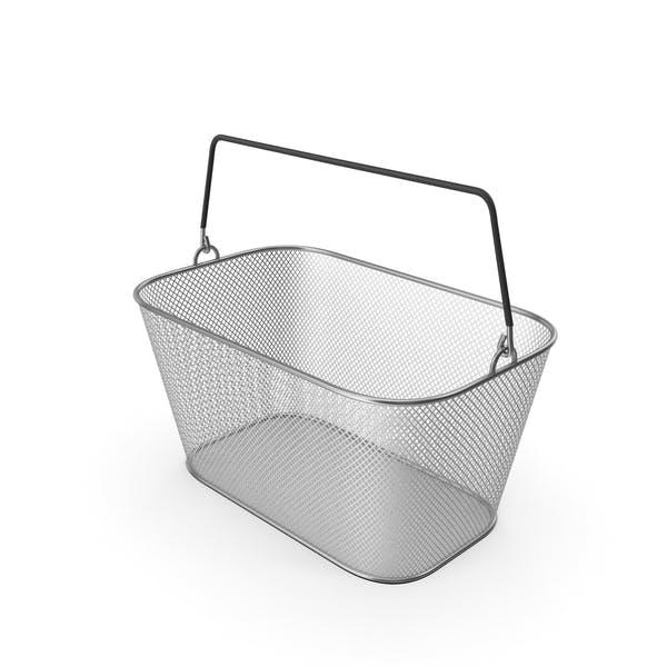 Metallic Shopping Wire Mesh Basket