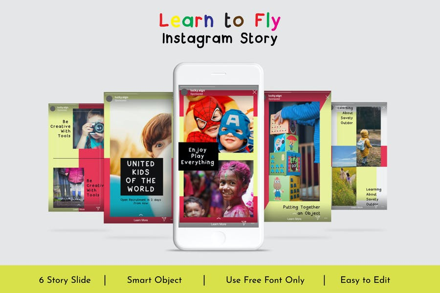 Learn to Fly Instagram Story Vol.13
