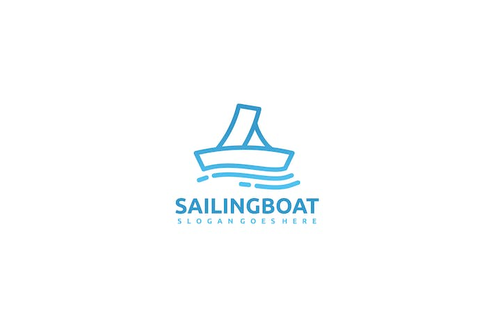 Thumbnail for Sailing Boat Logo