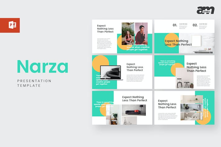 Thumbnail for Narza - Powerpoint Template