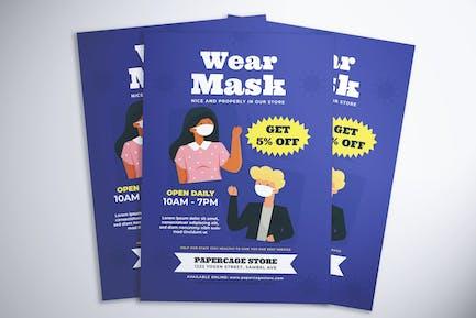Wear Mask Flyer