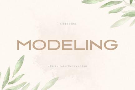 Modeling - Modern Fashion Sans Serif