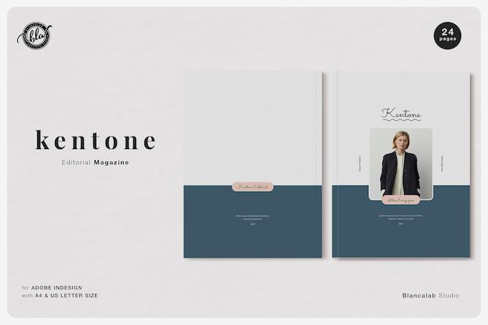 Thumbnail for KENTONE Editorial Magazine