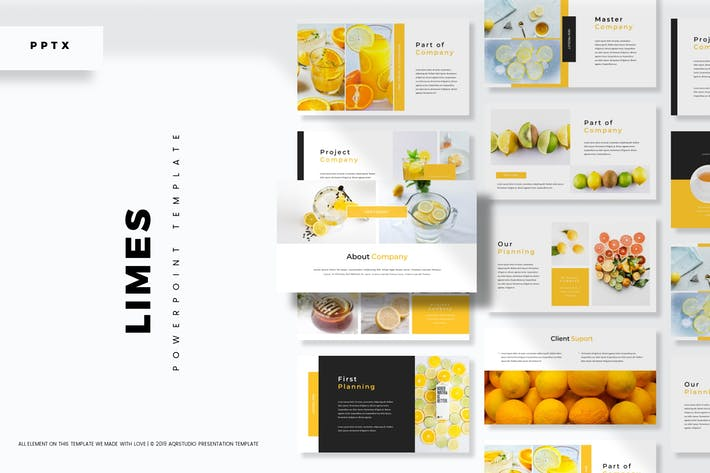 Thumbnail for Limes  - Powerpoint Template