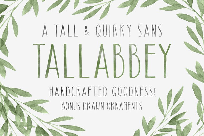 Cover Image For Tall Abbey Sans