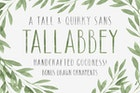 Tall Abbey Sans