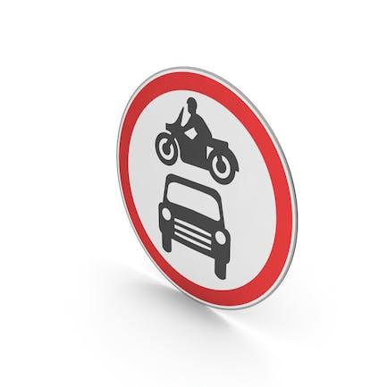 Verkehrszeichen Keine Kraftfahrzeuge