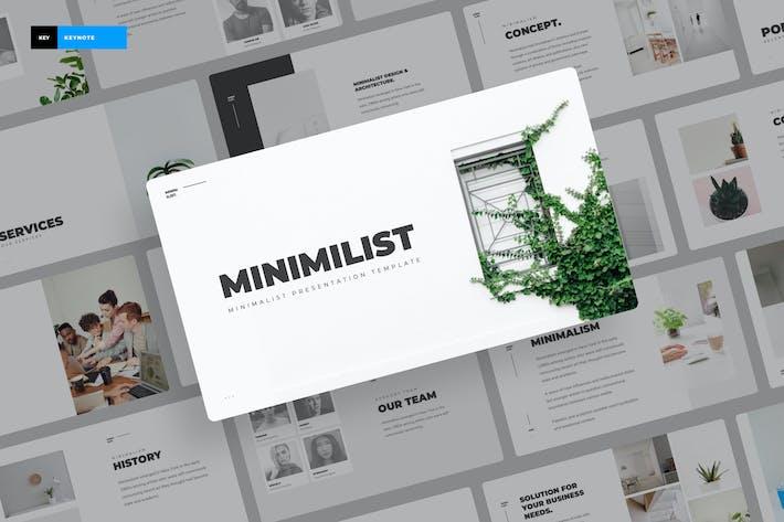Thumbnail for Minimilis - Minimalist Keynote Presentation