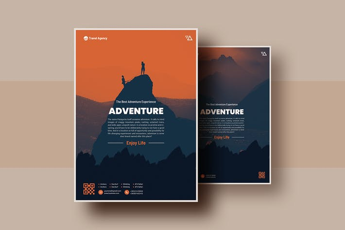 Thumbnail for OutDoor Adventure Flyer Template V-3