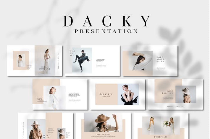 Dacky - Google Слайды