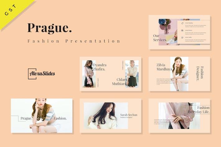 Thumbnail for Prague - Fashion Google Slides Presentation