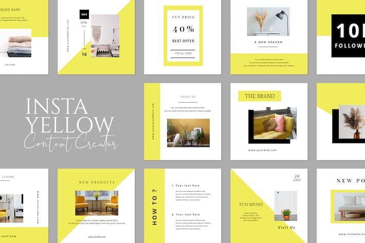 Thumbnail for Yellow Insta Creator