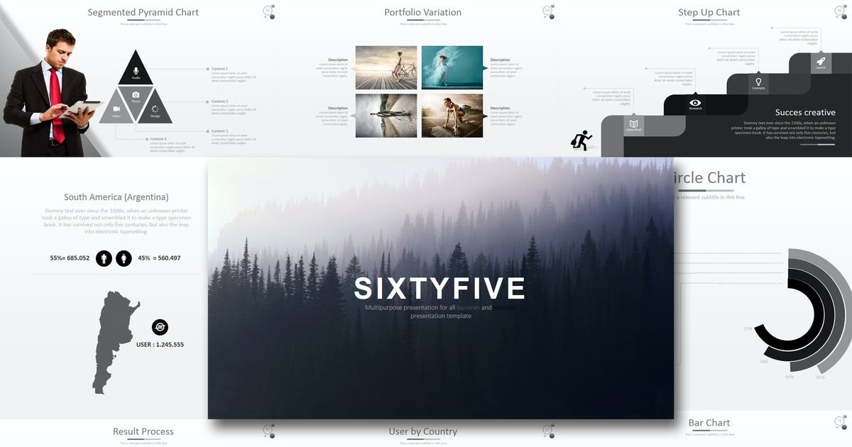 Download Sixty 5 - Powerpoint Template by Artmonk