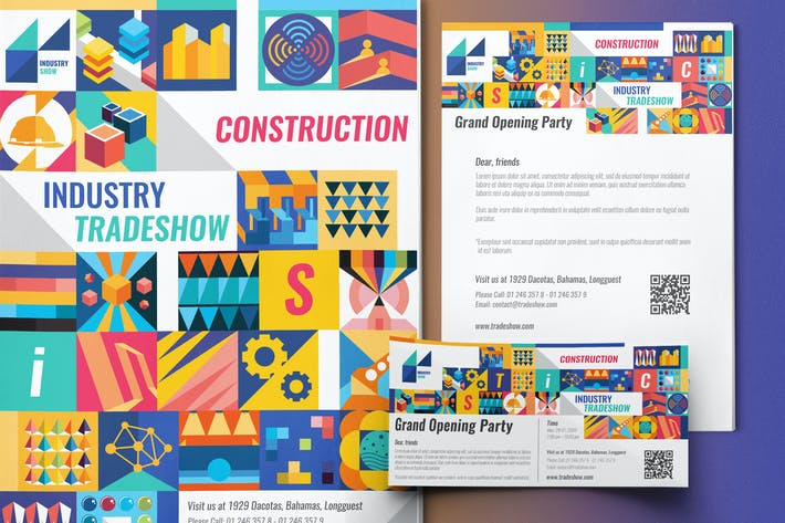 Industry Show-Set Template