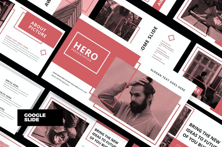 Cover Image For HERO - Corporate Google Slide