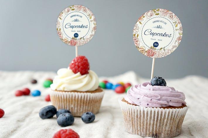 Thumbnail for Cupcake Mockup