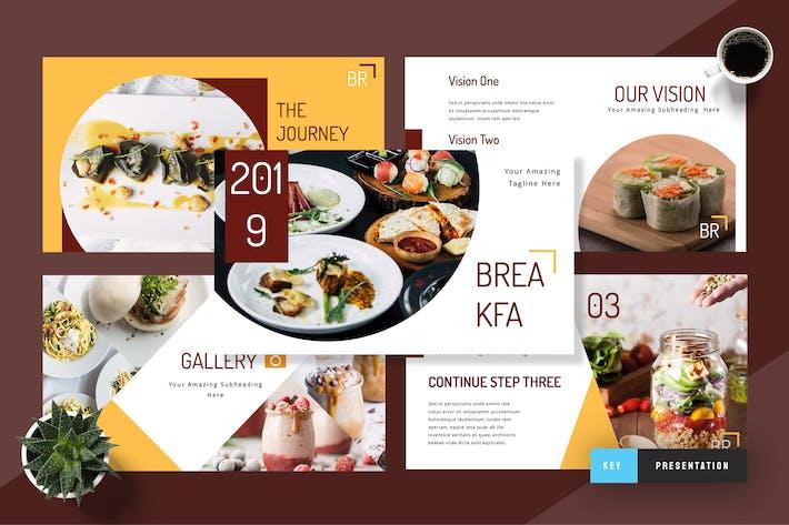 Breakfa - Food Keynote Presentation