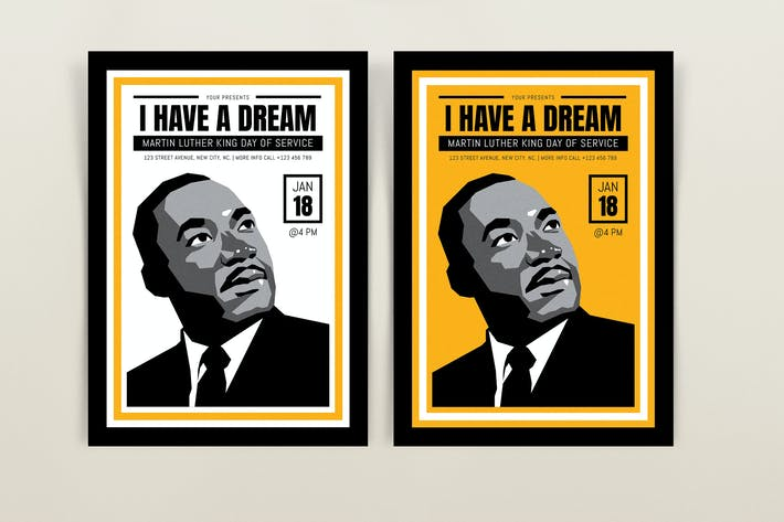 Martin Luther King Day Flyers