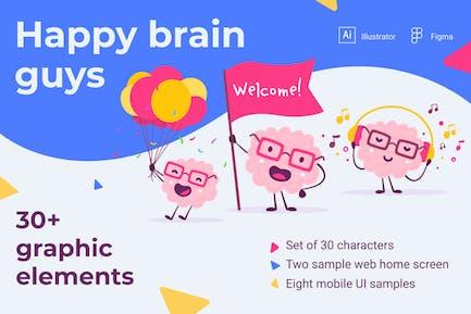 Happy brain guys