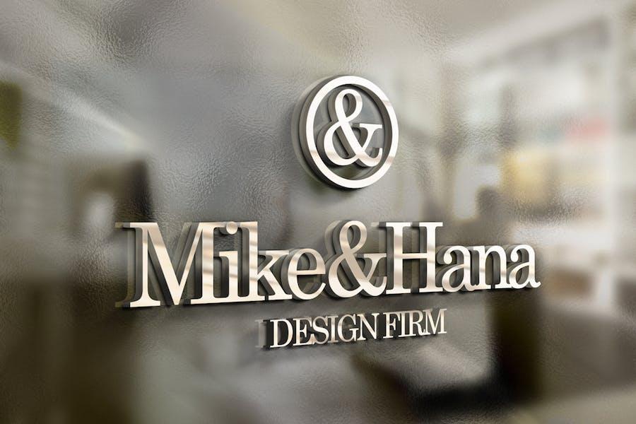 3D Logo / Sign Mock-ups