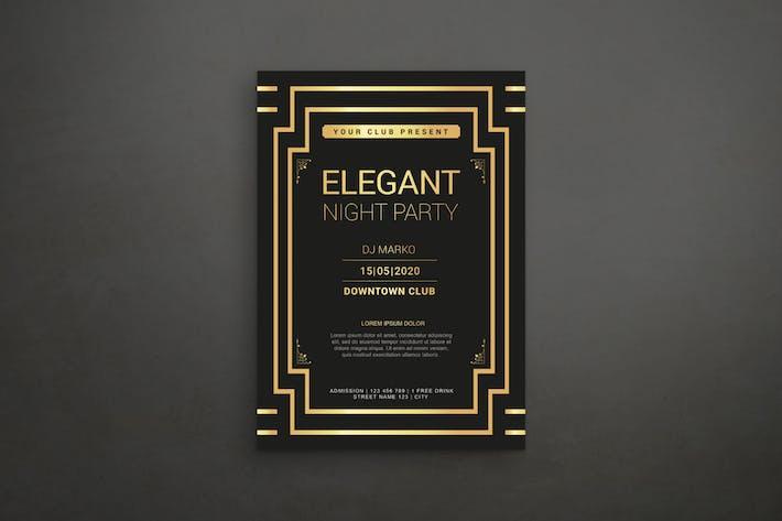 Thumbnail for Élégant dépliant